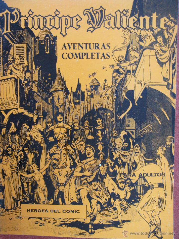 PRINCIPE VALIENTE. AVENTURAS COMPLETAS Nº 1. HÉROES DEL CÓMIC. FASCICULOS 1 A 6. 1972. (Tebeos y Comics - Buru-Lan - Principe Valiente)