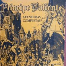 Cómics: PRINCIPE VALIENTE. AVENTURAS COMPLETAS Nº 1. HÉROES DEL CÓMIC. FASCICULOS 1 A 6. 1972.. Lote 49848186