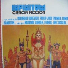 Cómics: INFINITUM. CIENCIA FICCIÓN Nº 1. PRODUCCIONES EDITORIALES, 1976. 98 PÁGINAS.. Lote 49854643