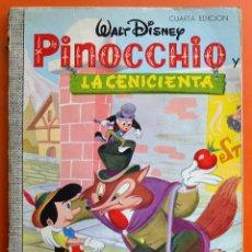 Cómics - PINOCCHIO - LA CENICIENTA - WALT DISNEY - COLECCION DUMBO Nº 32 - EDICIONES RECREATIVAS 1970 - 58290487