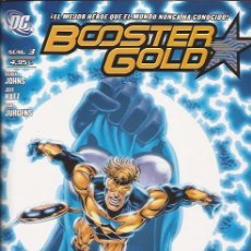 Cómics: COMIC-BOOSTER GOLD Nº 3 GEOFF JOHNS JEFF KATZ DC COMICS PLANETA. Lote 50136221