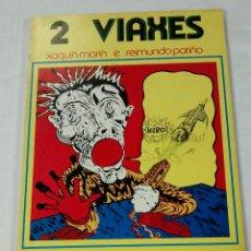 Comics: 2 VIAXES , PRIMER COMIC EN GALLEGO PUBLICADO DE XAQUIN MARIN Y RAIMUNDO PATIÑO , AÑO 1975. Lote 176692713