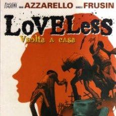 Cómics: LOVELESS - VUELTA A CASA - PLANETA. Lote 120908019