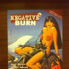Cómics: NEGATIVE BURN TOMO 1 - ALAN MOORE, BRIAN BOLLAND, PAUL POPE, ARTHUR ADAMS, TERRY MOORE,...- RECERCA. Lote 50153479