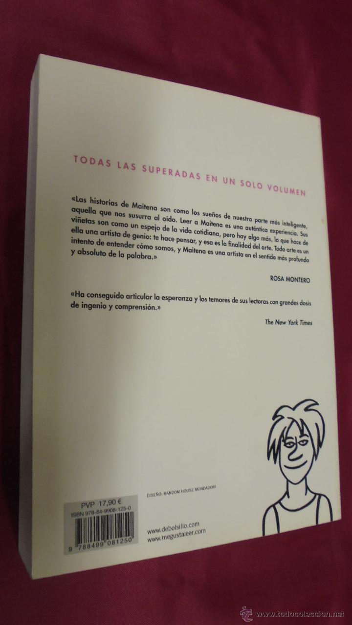 Cómics: MAITENA. TODAS LAS SUPERADAS. BEST SELLER. DEBOLSILLO. 1ª EDICIÓN. 2010. - Foto 4 - 50198810