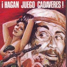 Cómics: MAFIA : HAGAN JUEGO CADAVERES. Lote 50256028
