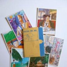 Comics: WAITING FOR YOU... KIKO FERIA. 6 POSTALES EN ESTUCHE. 15X10.5 CM. NORMA EDITORIAL, 1986. Lote 182145900
