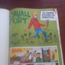 Cómics: LOTE DE 23 REVISTAS CAVALL FORT ENCUADERNADAS. Lote 50419129