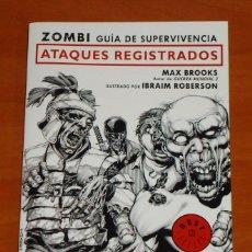 Cómics: ZOMBI. GUÍA DE SUPERVIVENCIA (MAX BROOKS) - CÓMIC. Lote 50424447