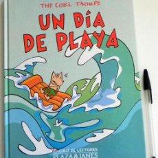 Cómics: UN DÍA DE PLAYA THE COBI TROUPE CÓMIC MARISCAL MASCOTA EN JJOO BARCELONA 92 ESPAÑA JUEGOS OLÍMPICOS. Lote 50543736