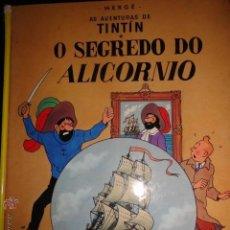 Cómics: TINTIN O SEGREDO DO ALICORNIO IDIOMAS GALEGO GALLEGO EL SECRETO DEL UNICORNIO 1ª EDICCION MUY RARO. Lote 50703098
