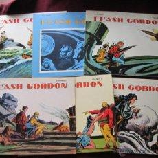 Cómics: FLASH GORDON. MAC RABOY. 4 VOLÚMENES (NUMS. 1, 3, 5 Y 6 ) EDIC. B.O. 1978 MBE. Lote 50861171
