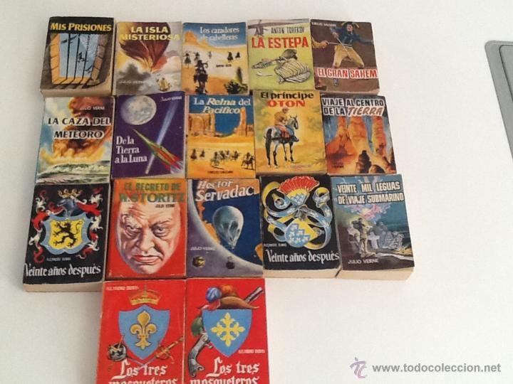 LOTE DE 17 TOMOS ENCICLOPEDIA PULGA 1959 (Tebeos y Comics Pendientes de Clasificar)