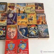 Cómics: LOTE DE 17 TOMOS ENCICLOPEDIA PULGA 1959. Lote 50871539