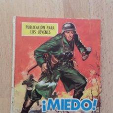 Cómics: HAZAÑAS BELICAS_BOIXCAR_Nº 109: ¡MIEDO!. Lote 51021713
