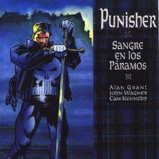 Cómics: PUNISHER SANGRE EN LOS PARAMOS GRANT WAGNER KENNEDY BOX14. Lote 51130739