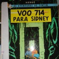 Cómics: TINTIN VOO 714 PARA SIDNEY IDIOMAS GALEGO GALLEGO VUELO 714 PARA SIDNEY 1ª EDICCION MUY RARO. Lote 51201847