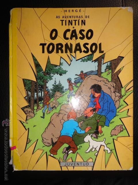 TINTIN O CASO TORNASOL GALEGO GALLEGO 2ª EDICCION MUY RARO (Tebeos y Comics Pendientes de Clasificar)