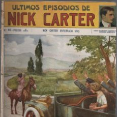 Cómics: COMIC EDITORIAL SOPENA - Nº 80 DE NICK CARTER . Lote 51240893