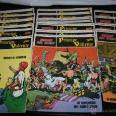 Cómics: LOTE DE 17 COMIC TEBEOS DEL PRINCIPE VALIENTE, HEROES DEL COMIC BURU LAN, AÑO 1973, 55 A 78. Lote 51332866