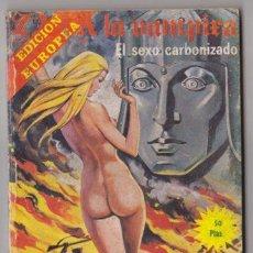 Cómics: ZARA LA VAMPIRA 26 EL SEXO CARBONIZADO - COMIC TERROR ELVIBERIA . Lote 51384240