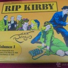 Cómics: RIP KIRBY. VOLUMEN 1. BY ALEX RAYMOND. CONTIENE 5 NUMEROS. DEL 1 AL 5. ESEUVE. EDICIÓN CRONOLÓGICA. Lote 51421026