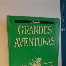 Cómics: TOMO 3 GRANDES AVENTURAS - EL PERIODICO - EMILIO SALGARI - JULIO VERNE - MARK TWAIN - DUMAS -DICKENS. Lote 51541826