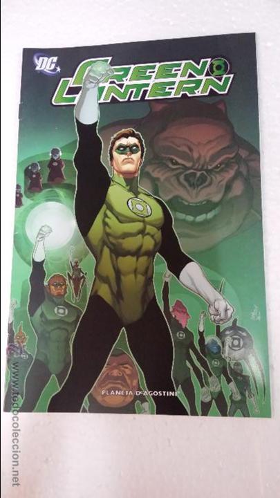 GREEN LANTERN CÓMIC Nº1 PLANETA DEAGOSTINI (Tebeos y Comics - Comics otras Editoriales Actuales)