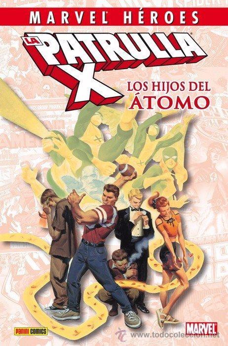 MARVEL HEROES LA PATRULLA X HIJOS DEL ATOMO BOX40 (Tebeos y Comics - Comics otras Editoriales Actuales)
