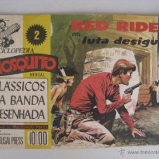 Cómics: RED RYDER EM LUTA DESIGUAL,POR FRED HARMAN - EN PORTUGUES.. Lote 51632146