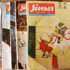 Cómics: JOVENES LOTE 10 EJEMPLARES (2/2). Lote 51656466