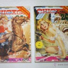 Cómics: LOTE DE 2 COMIC, CHICAGO AÑOS 20 Nº 14 16, ELVIBERIA 1977. Lote 51664763