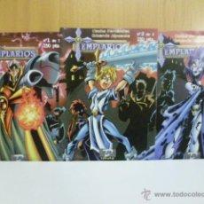 Cómics: TEMPLARIO, 3 VOLUMENES DE 3. COLECCION COMPLETA.. Lote 51710058