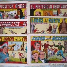 Cómics: COMIC TEBEO ROBERTO ALCÁZAR Y PEDRÍN LOTE 6 COMICS NUEVOS 161-163-164-165-167-168 BRUGUERA 1984. Lote 51717999