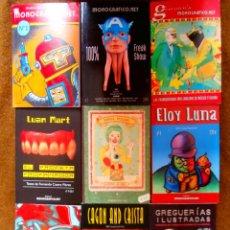 Cómics: COLECCION COMPLETA MONOGRAFICO GOMEZ DE LA SERNA, 100% FREAK SHOW LUAN MART SONIA PULIDO. Lote 51920029