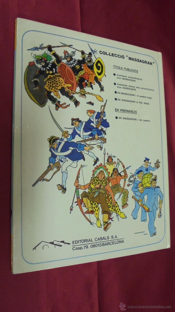 Cómics: AVENTURES ENCARA MÉS EXTRAORDINARIES D'EN MASSAGRAN . EDITORIAL CASALS. EN CATALÁ. - Foto 4 - 51966295