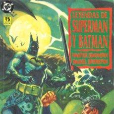 Cómics: LEYENDAS DE SUPERMAN Y BATMAN. 3 NUMEROS. DC. Lote 51973280