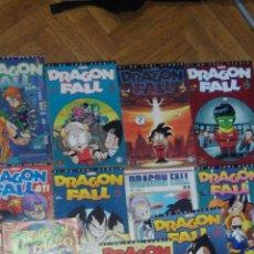 Cómics: DRAGON FALL 11 TOMO DIFERENTES LOS DE LA FOTO PARODIA DRAGON BALL. Lote 51990932