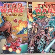 Cómics: STAR WARS - EL CONSEJO JEDI 1 2 - COMPLETA - ED PLANETA AÑO 2002 - NUEVO (PRECINTADOS). Lote 51996076