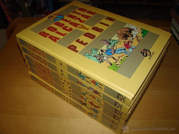 ROBERTO ALCÁZAR Y PEDRÍN - PRIMERA SERIE - EDITORIAL BRUCH 1990 - COMPLETA (Tebeos y Comics - Comics Colecciones y Lotes Avanzados)