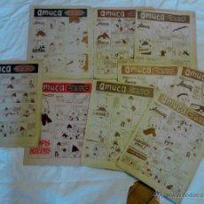 Cómics: AMUCA PAGINAS ESPECIALES PARA LOS HIJOS DE LAS AMAS DE CASA. Lote 52013137