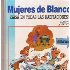 Cómics: MUJERES DE BLANCO. Nº 2. ¡ GASA EN TODAS LAS HABITACIONES !. DRAGÓN COMICS 1990. P/B8). Lote 52021401
