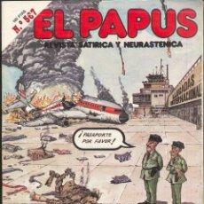 Cómics: EL PAPUS.- REVISTA Nº 567- HISTORIAS DE AMOR Y MASACRE. Lote 52409876