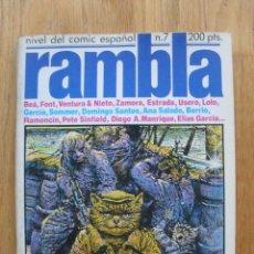 Cómics: COMIC RAMBLA, NUMERO 7. Lote 52410190