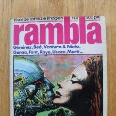 Cómics: COMIC RAMBLA, NUMERO 4. Lote 52410235