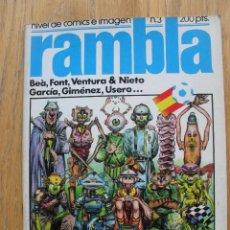 Cómics: COMIC RAMBLA, NUMERO 3. Lote 52410317