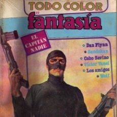 Cómics: FANTASIA Nº 22 EL CAPITAN NADIE, CABO SAVINO, SANDOKAN,VICTOR VANEL...EDITORIAL COLUMBA. PRECINTADO. Lote 54122659