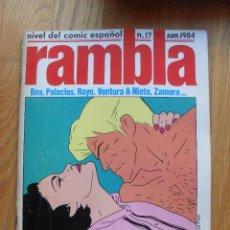 Cómics: COMIC RAMBLA, NUMERO 17. Lote 52576413