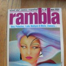 Cómics: COMIC RAMBLA NUMERO 18. Lote 52576439