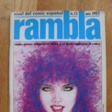 Cómics: COMIC RAMBLA NUMERO 13. Lote 52576537
